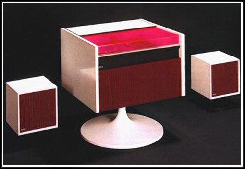 Stereo designed by Andre Morin (1960s)