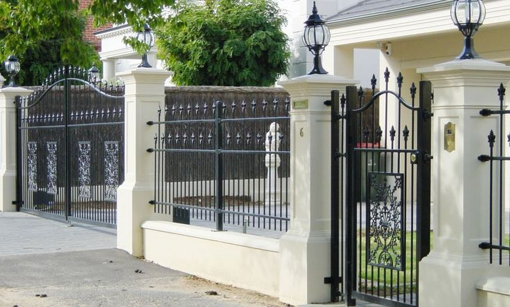 Magnificent Swing Driveway Plus Single Personal Gate Also