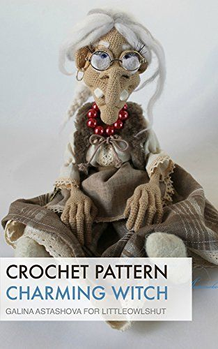 Crochet pattern (sewing - clothes) Charming Witch (LittleOwlsHut)