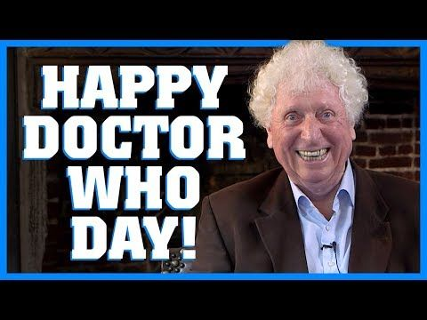 Happy Doctor Who Day from Tom Baker on the show's 54th anniversary Happy Doctor Who Day from Tom Baker on the show's 54th anniversary   SYFY WIRE