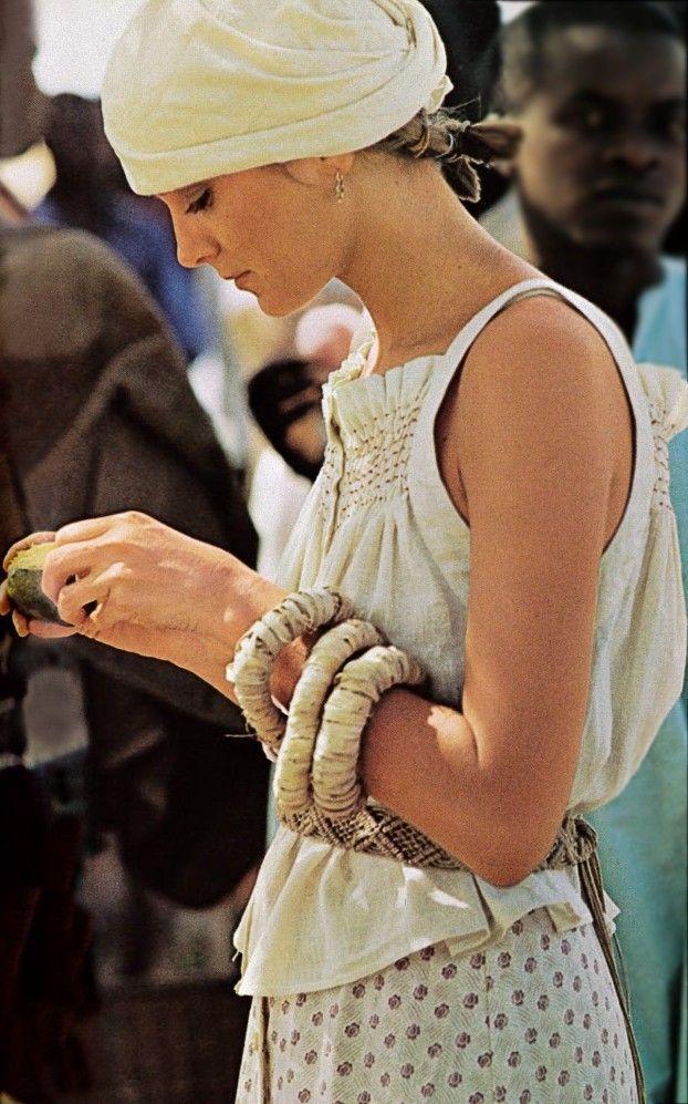 July 74 Vogue Italia - Sotto il Sole del Senegal