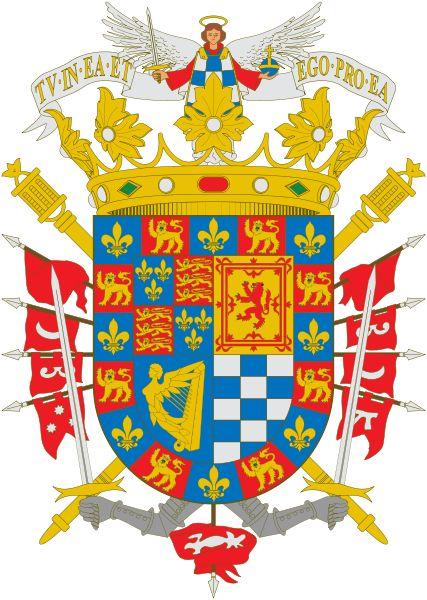 :Escudo XVIII Duquesa de Alba .Spain .