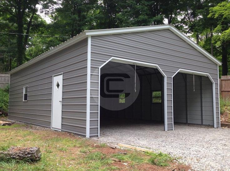 garage olympic storechoice acatalog large for metal steel strong sale garages wide frame
