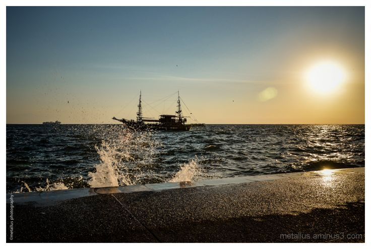 """Pirate ship"" Thessaloniki, Greece 2013"