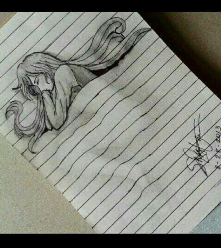 Easy 3d Line Drawings : D süße träume zeichnen und gestalten pinterest girl