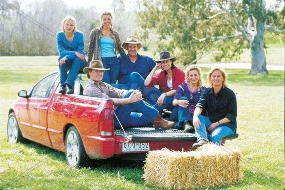 McLeod's Daughters - Becky, Tess, Nick, Alex, Claire, Jodi and Meg