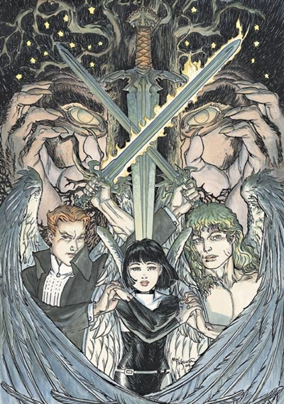 Lucifer, Elaine Belloc and Michael