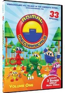 Top cartoons for preschoolers Animal Mechanicals