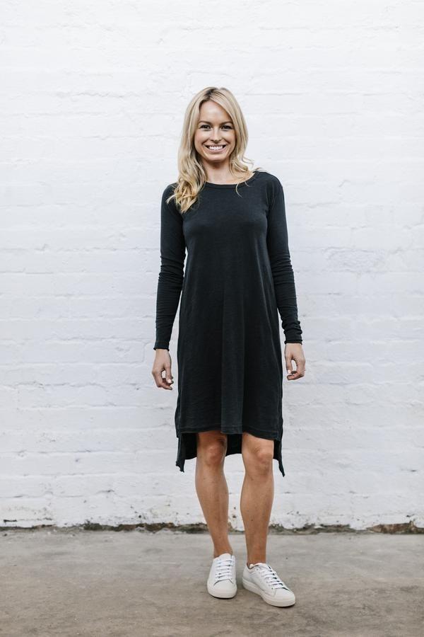 Billie Dress - Jet Black from Blossom and Glow blossomandglow.com.au