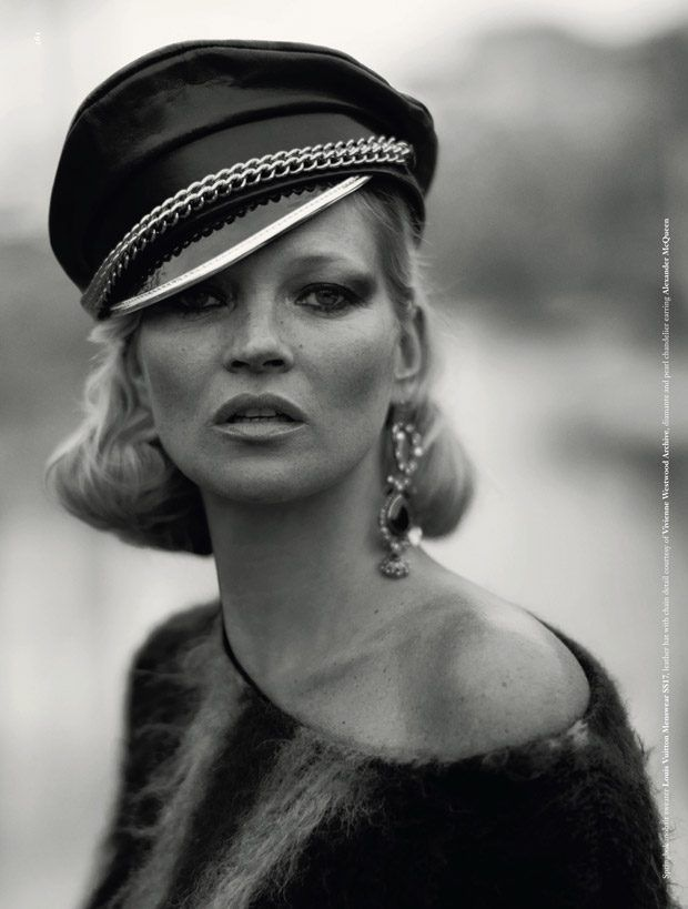 Kate Moss Rocks Dazed Magazine 25th Anniversary Issue Cover Story