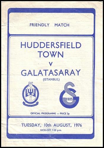 Huddersfield Town v Galatasaray 1976