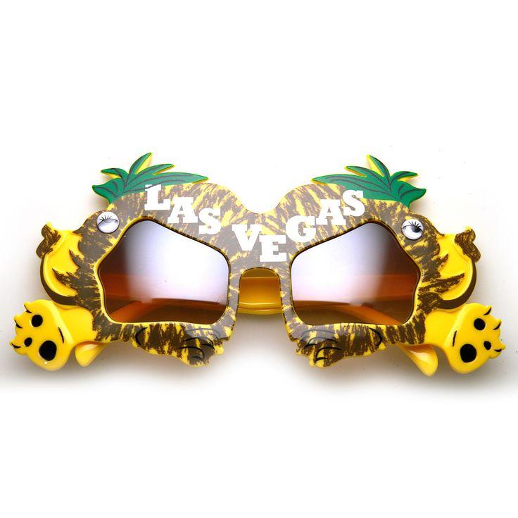 Las Vegas MGM Lion Hear Me Roar Party Novelty Sunglasses