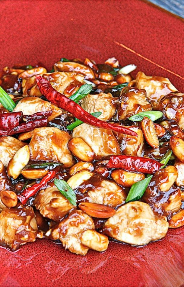 Kung Pao Chicken Breast | The Hopeless Housewife