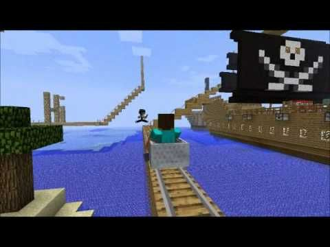 Epic Minecraft Rollercoaster - YouTube