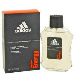 Adidas Deep Energy by Adidas Eau De Toilette Spray 3.4 oz (Men)