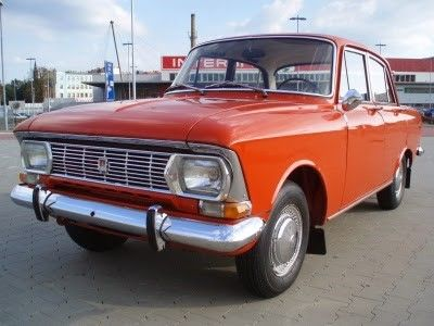 Moskwich Car / Masină Moskwich