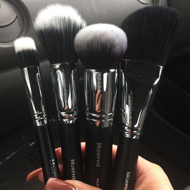 Morphe + Makeup Brushes   Black  pinterest: @rosajoevannoy