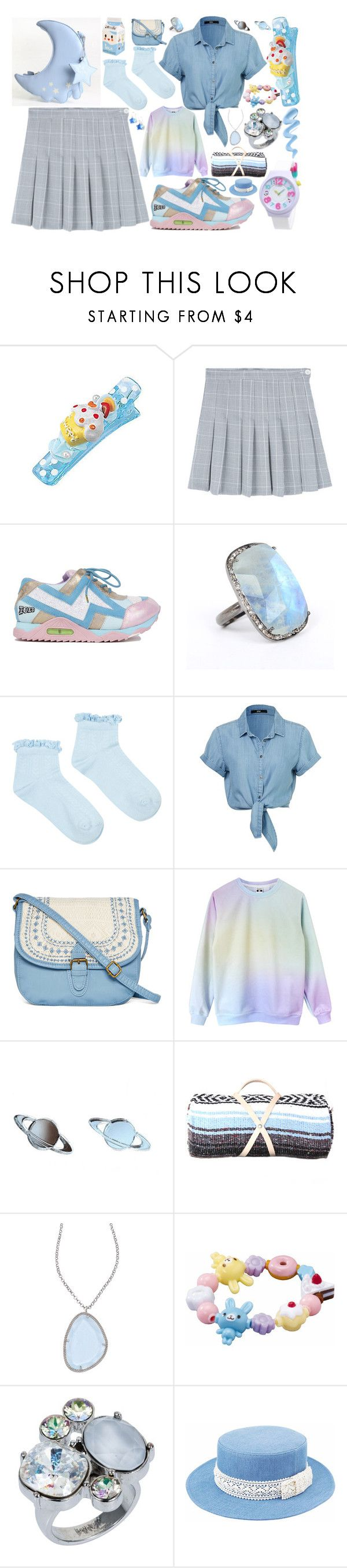 """""""Little Cupcake"""" by limerick-riddle ❤ liked on Polyvore featuring Irregular Choice, ADORNIA, Accessorize, T-shirt & Jeans, Elliott Chandler and Nadia Minkoff"""