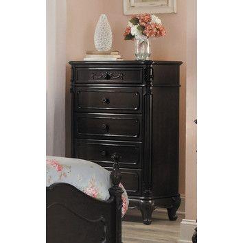 Woodbridge Home Designs Cinderella 5 Drawer Chest. 18 best Bedroom Chests images on Pinterest