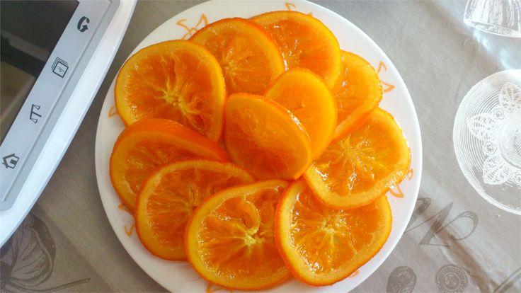 Naranjas Confitadas con Thermomix ®