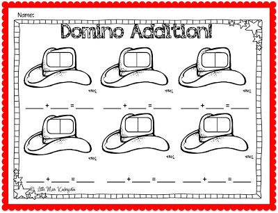 Little Miss Kindergarten - Lessons from the Little Red Schoolhouse! Freebie!