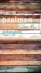 PSALMEN VOOR NU TEKSTEDITIE