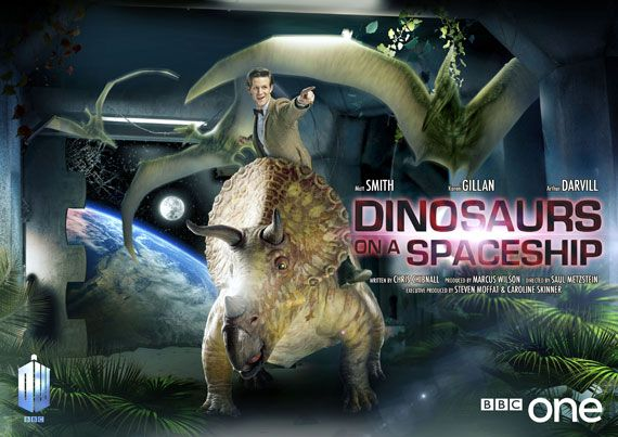 Doctor Who Episode Posters--Dinosaurs on a spaceship? Will there be an inevitable betrayal?