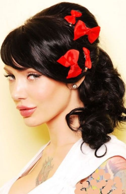 Pin Up Hairstyles – VINTAGE PIN UP HAIRSTYLE