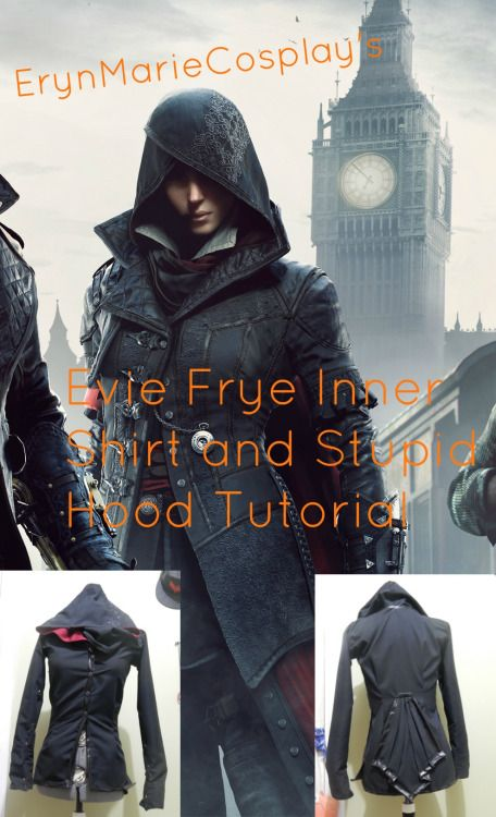 Round three of my Evie Frye cosplay tutorial series thing! You asked for the inner shirt and I aim to please so TADA. Next up will be embroidery on the cape, then maybe the full cape! Preface: I made...