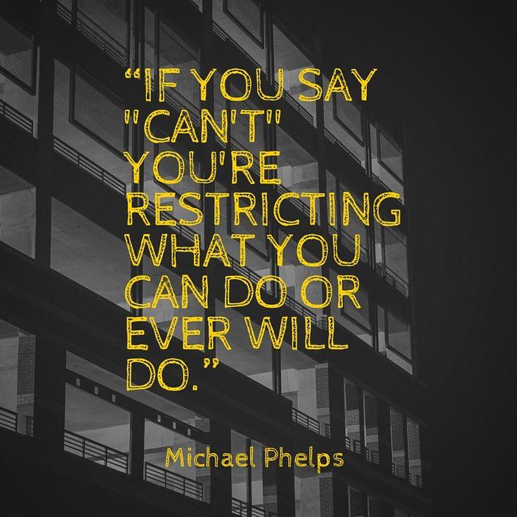 Interesting Michael Phelps Quotes