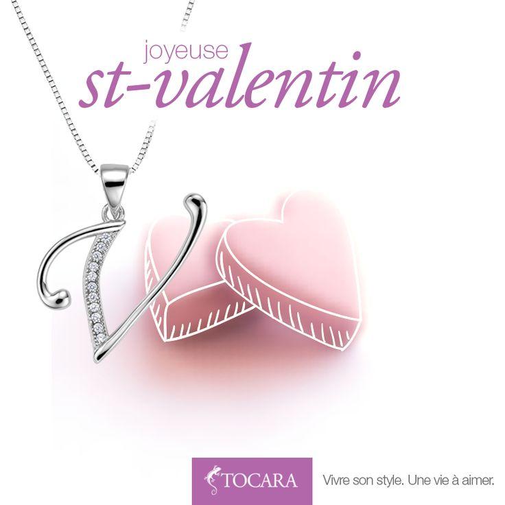 Joyeuse St-Valentin à vous toutes ! TOCARA. Vivre son style. Une vie à aimer.