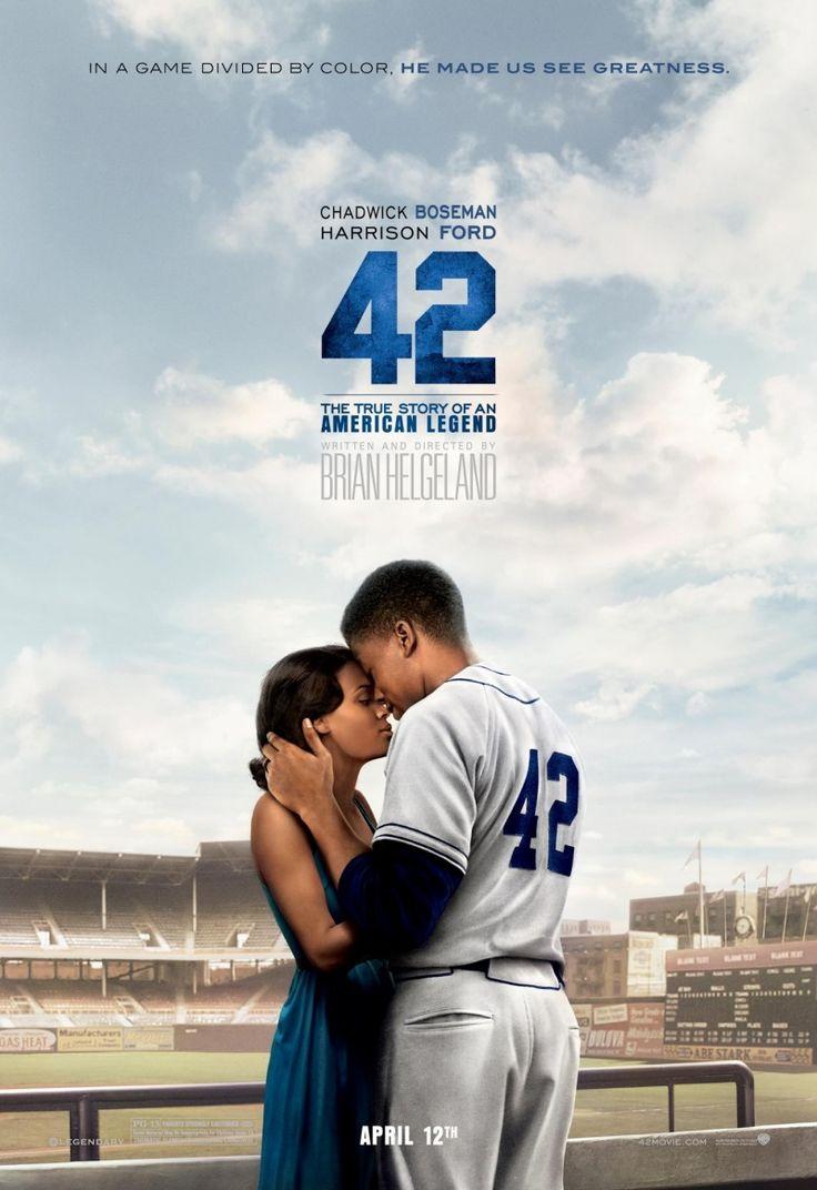 Фильм посвящен тому, как Брэнч Рики и Джеки Робинсон уничтожили сегрегацию в бейсболе в 1947 году.Сорок два / 42 (2013) - смотрите онлайн, бесплатно, без регистрации, в высоком качестве! Драмы