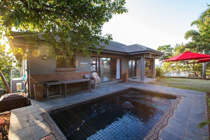 A pool for those hot summer days. On Madeleine Holiday Home Ballito.