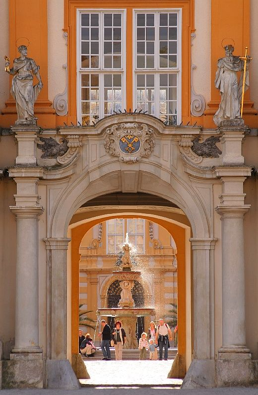 Melk Abbey - Baroque perspective, a photo from Lower Austria, East | TrekEarth)