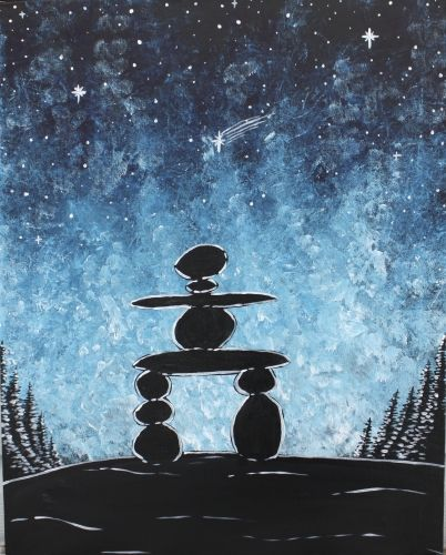 Midnight Inukshuk at Boston Pizza - Country Hills - Paint Nite Events near Calgary, AB>
