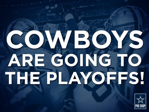 Dallas Cowboys going to the Playoffs