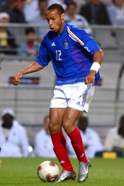 64c93d409 Thierry Henry France | Arsenal | Thierry henry, 2002 world cup, France