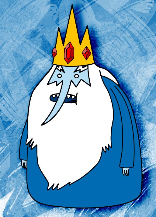 How To Draw The Ice King From Adventure Time ~ Draw Central