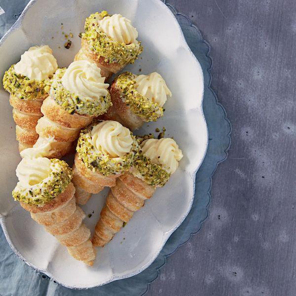 Custard Cream Horns Recipe | Woolworths | SWEET PASTRIES ... Horns Recipe