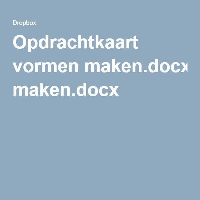 Opdrachtkaart vormen maken.docx