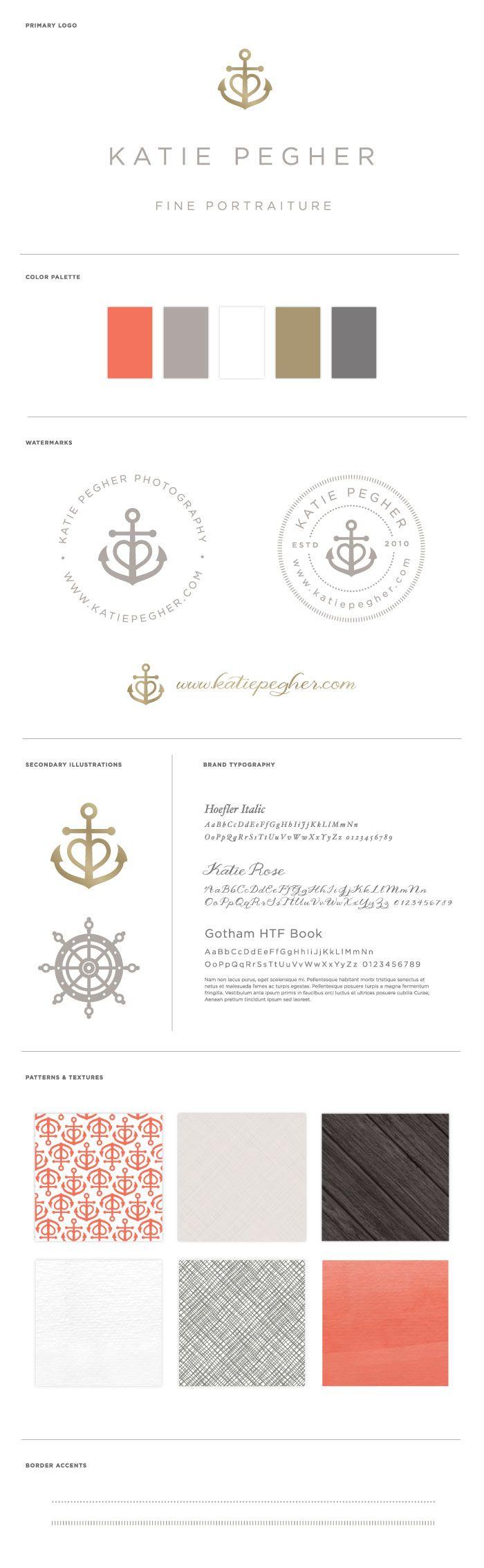 || Katie Pegher Photography ::  Logo and Brand Identity by BRAIZEN repinned by www.BlickeDeeler.de