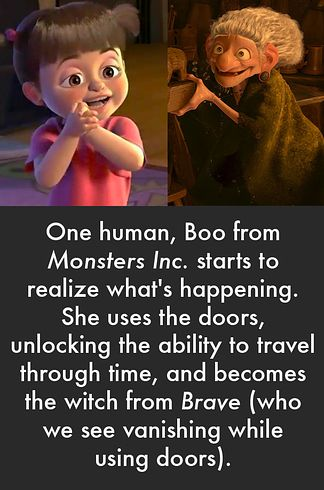 """Click and read the whole theory! --> The """"animals and inanimate objects from the Pixar universe rise up against humanity"""" theory // The 13 Most Indisputable Fan Theories Of 2013 / Buzzfeed"""