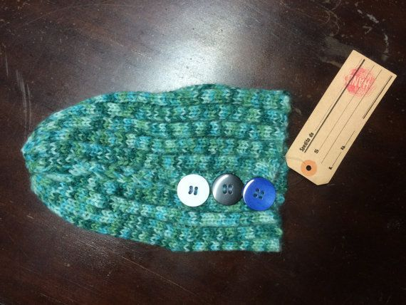 Cappellino lana / knitting handmade wool cap on etsy shop FFaaMM!