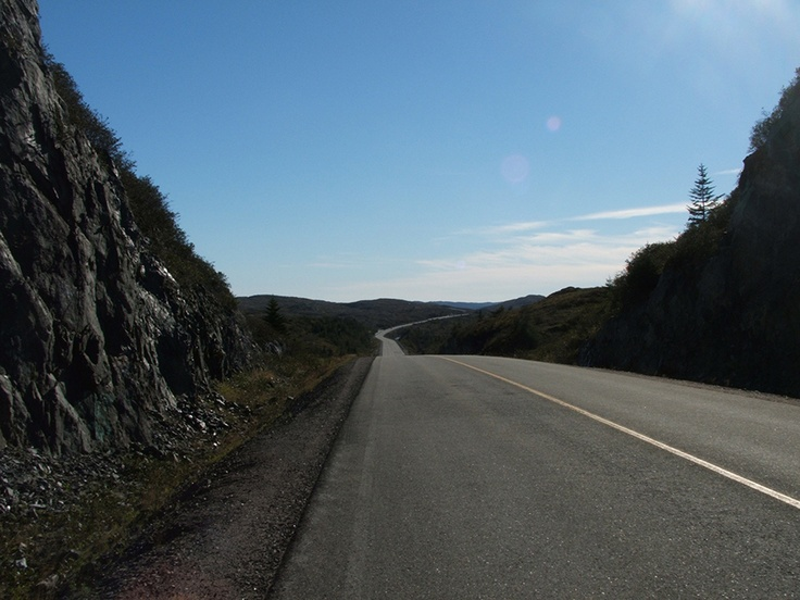 The Burin Peninsula Highway as seen by a Hitchhiker