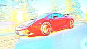 "New artwork for sale! - "" Lamborghini Gallardo 935 by PixBreak Art "" - http://ift.tt/2kQzVmb"