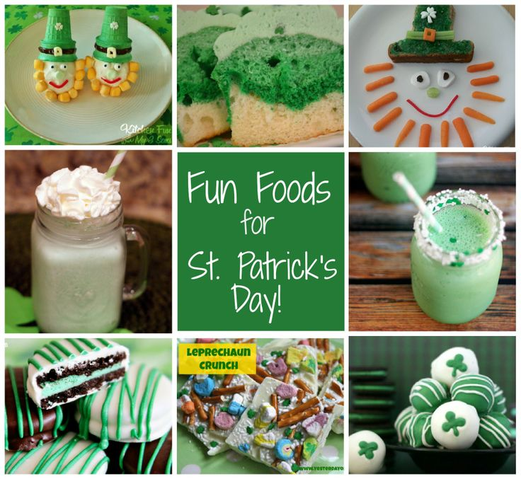 Fun St. Patrick's Day food ideas for kids! via @Sara W