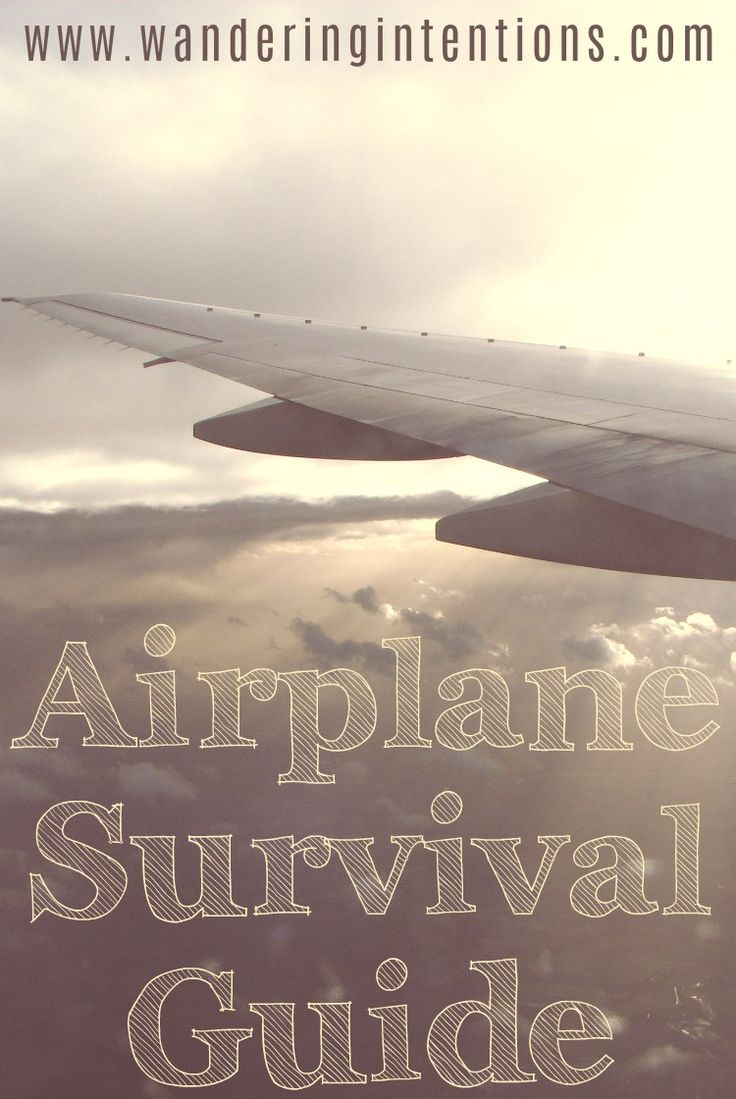 Anticipating a long flight ahead of you? Check out this Airplane Survival Tips & Tricks Guide. Wandering Intentions