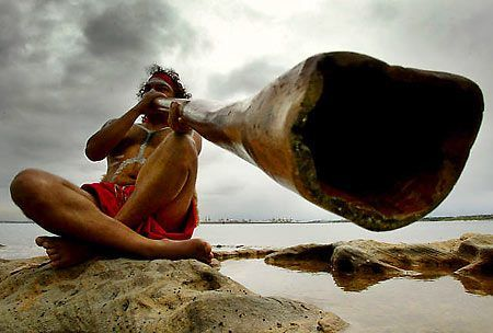 The didgeridoo is a wind instrument developed by Indigenous Australians of northern Australia around 1,500 years ago
