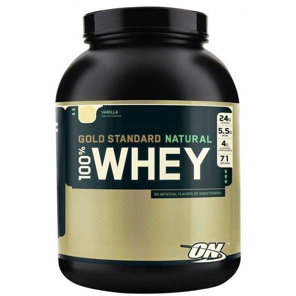 Optimum Nutrition 100% Natural Whey Protein Gold Standard 2.27kg