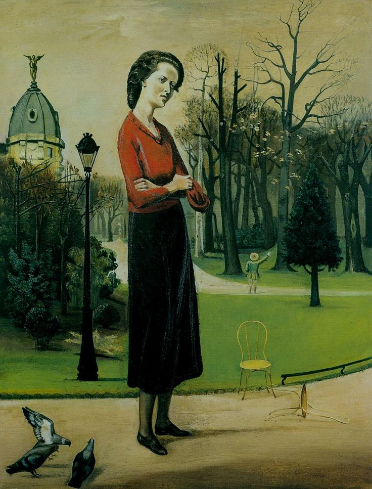 Lelia Caetani. Balthus. 1935    oil painting.  New York Metropolitan Museum of Art - the Met.